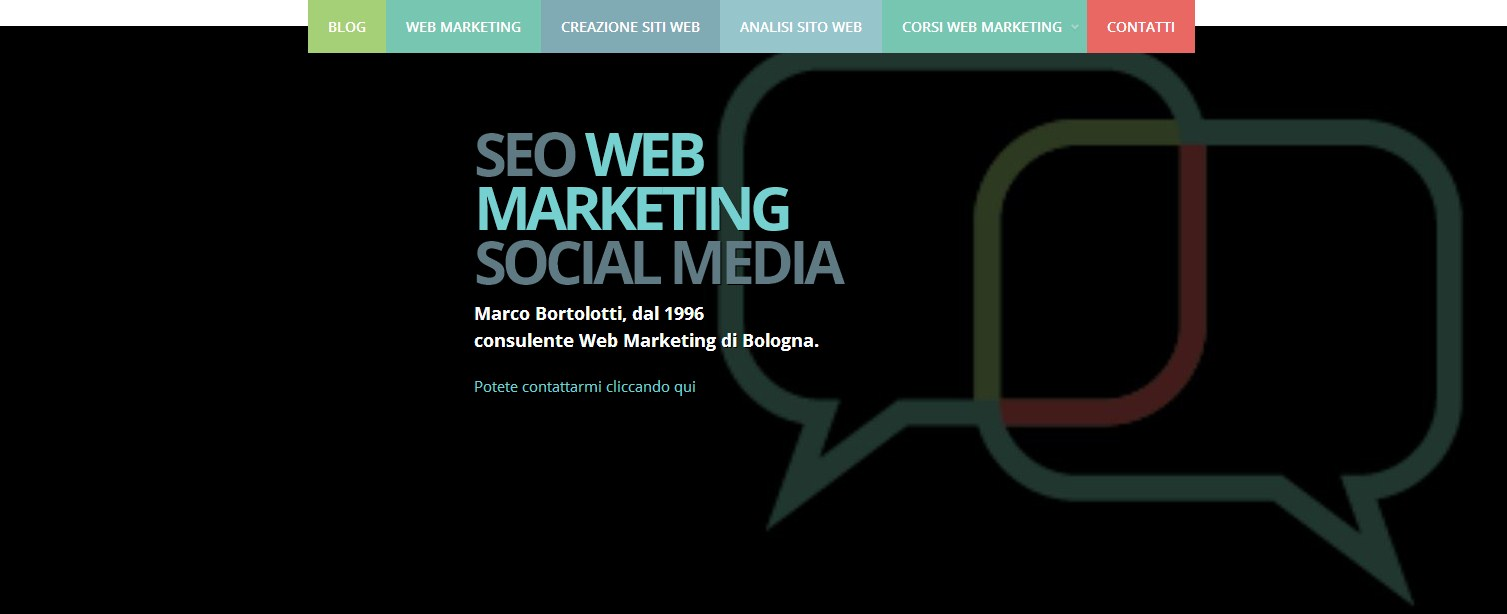 nuovo blog web marketing