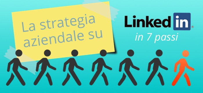La strategia aziendale su LinkedIN in 7 passi